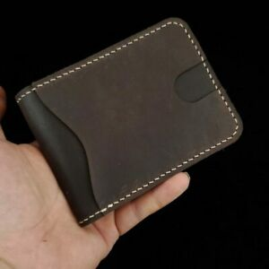 [NEW] Men's Minimalist Leather Front Pocket Wallet