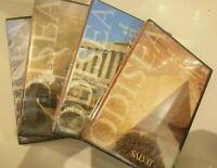 DVDlote Viaje por el patrimonio de la humanidad(4 dvd)odisea (nuevo precintado)