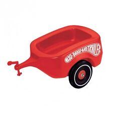 BIG Bobby-Car Trailer  Rutscher Anhänger Rutschanhänger Zubehör rot