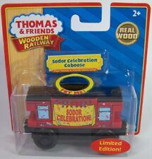 THOMAS TANK ENGINE FRIENDS WOODEN RAILWAY MUSICAL SODOR CELEBRATION CABOOSE