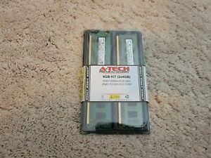 A-Tech 8 GB Kit (2x4GB) DDR3 1333MHz PC3-10600 Non-ECC DIMM RAM Memory NEW