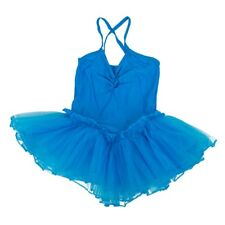 2X(Ballet Tutu Fairy Dress Dancer Tights for Girls 4-5T Blue C4X8)