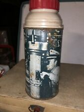 1960 Vintage SUBMARINE metal  THERMOS