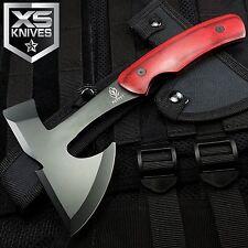 "9"" TACTICAL survival TOMAHAWK THROWING AXE Hatchet Hawk WOOD KNIFE"