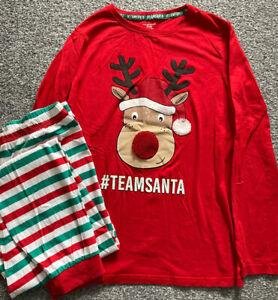 Christmas Team Santa Pyjamas - Unisex - Age 12-13