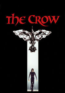 The Crow Brandon Lee Vintage Movie Giant Poster - A0 A1 A2 A3 A4 Sizes