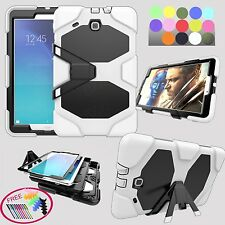 """Military Armor Hard Rugged Case for 9.6""""Samsung Galaxy Tab E SM-T560 Stand Cover"""
