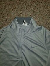 Men's Nike Dri-Fit Quart Zip Athletic Lightweight Jacket Size large