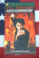 NEW Kiss of the Dragon (VHS, 2001) Luc Besson, Jet Li, Martial Arts Video SEALED