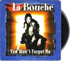 La Bouche - You Won't Forget Me - CDS -1997- Eurodance 2TR Card Melanie Thornton