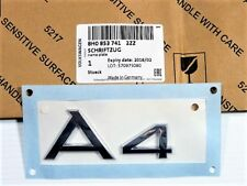 NEW Genuine AUDI A4 Quattro 2004 NAMEPLATE 8H08537412ZZ 8H0-853-741-2ZZ