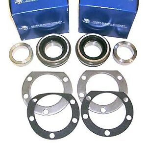 Chrysler Mopar 8.75 8 3/4 Dana 60 Green Bearings Sealed Ball Wheel Bearings PAIR