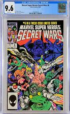 Marvel Super Heroes Secret Wars #6 CGC 9.6