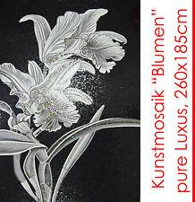 """Bello! mosaico mosaico immagine """"FIORI"""" 260x185 cm 4,8m² 51.000 STRASS capolavoro"""