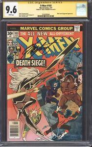 X-MEN #103 (1977) CGC 9.6 NM+ SS / Juggernaut! / Signed by Chris Claremont!