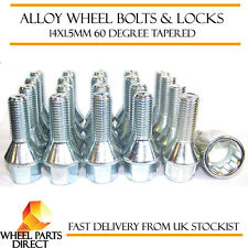 Wheel Bolts & Locks (16+4) 14x1.5 Nuts for VW Bora 99-08