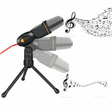 Professional Condenser Microphone Podcast Studio Sound Recording for PC Laptop