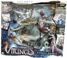 Chap Mei Vikings Tusker Rider Play set Action Figure Mammoth Fantasy warriors