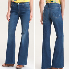 MOTHER $208 Stardust The Mellow Drama Flare Leg Stretch Denim Jean Size 27