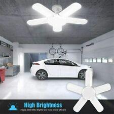 US E27 LED Garage Light Bulbs Foldable Ceiling Fixture Lights Shop Workshop Lamp