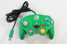 Official Club Nintendo GameCube Controller Pad Luigi Green Blue T3 Tight OEM