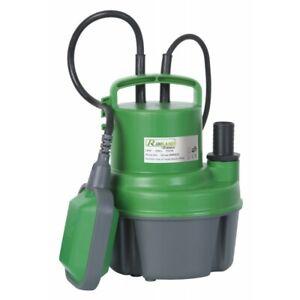 Pompe vide-cave eaux claires 250 watts + interrupteur flotteur