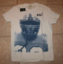 NWT Abercrombie Boys Large Football Muscle Fit Baldface Mountain T-Shirt
