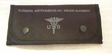 MILITARY Minor Surgical Kit Stainless Steel Instruments & Sutures 16pc New BLK