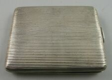 ANTIQUE 19 TH CENTURY IMPERIAL RUSSIAN SOLID SILVER CIGARETTE CASE, MOSCOW.