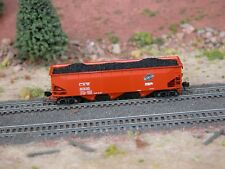 Hay Brothers Coal Load - Fits Bluford Shops 70-Ton Offset-Side Hopper Cars