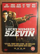 BRUCE WILLIS MORGAN FREEMAN Lucky Number Slevin 2006 Acción SUSPENSE GB DVD