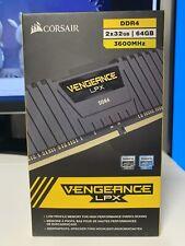 Corsair Vengeance LPX 64GB (2 x 32GB) PC4-28800 (DDR4-3600) Memory...