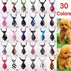 3pcs Pet Dog Puppy cat ties Necktie Bow Ties Collar Grooming Out Lot clothes
