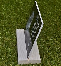 Composite Base Stand for Granite Tombstone will fit 6x12 up to 12x12 inch by 3/8