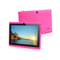 """7"""" 4GB Pink Tablet PC Google Android 4.2 A23 1.5GHz Dual Core Dual Camera WI-FI"""
