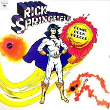 "RICK SPRINGFIELD ""COMIC BOOK HEROES"" PREMIUM QUALITY USED LP (NM/EX)"