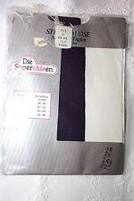Original 70er Jahre Nylons Tupfen Strumpfhose Gr. 44 Lila 20 Den Strümpfe Retro