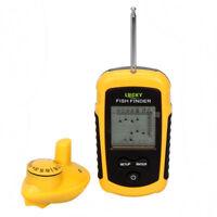 40M 130FT Fishfinder Wireless Sonar Echolot Grüner LED-Angelkarpfen Fish Finder