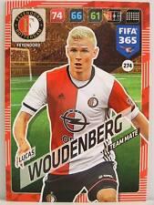 Panini Adrenalyn XL FIFA 365 2018 - #274 Lucas Woudenberg - Feyenoord Rotterdam