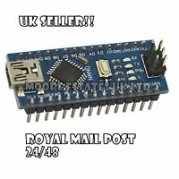New!! Nano V3.0 For Arduino with CH340G 5V 16M compatible ATmega328P UK Seller