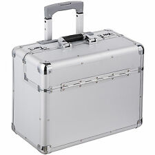 Tectakeâ Travel Bag Briefcase Business Pilot Trolley Suitcase Lockable Rollers