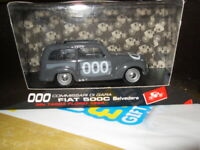 Brumm 1/43 Scale Metal Model S032 FIAT 500C  Belvedere 1954 New Boxed unopened.