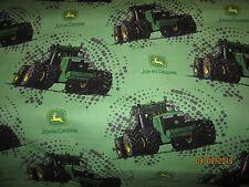 John Deere  baby toddler sheets set  tractors green dirt