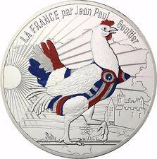 FRANCE 50 EURO Jean Paul Gaultier Argent 2017 Corsagen-poule couleur Série II