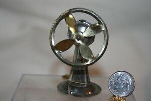 Miniature Dollhouse Vintage Pre WWII Tin Fan Janpan 1:12 NR