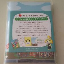 Club Nintendo Original japan Limited Animal forest Pocket Diary With Cover