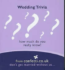 Wedding Trivia: How Much Do You Really Know? (Confetti Series - Mini Books), Con