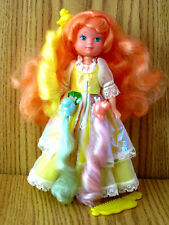 LADY LOVELY LOCKS MAIDEN CURLY CROWN DOLL  MATTEL EXCELLENT COND. & COMPLETE