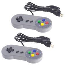 2x USB Controller Gamepad Joystick SNES Design für PC Computer Raspberry Pi