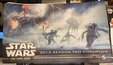 Star Wars Playmat LCG 2015 Winter Champion Hoth Battle